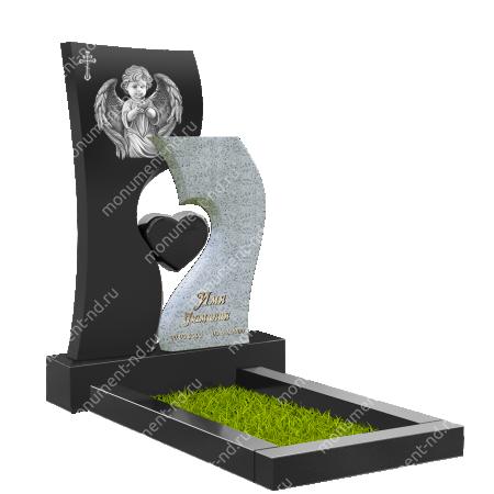 Памятник с сердцем ПС-28
