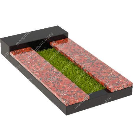 Накладная плита на цветник Цвт-012  3
