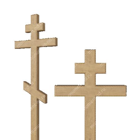 Деревянный крест на могилу ДкД - 004 1