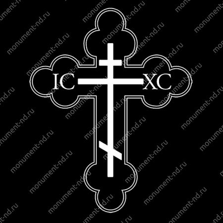 Гравировка Крестика К-026