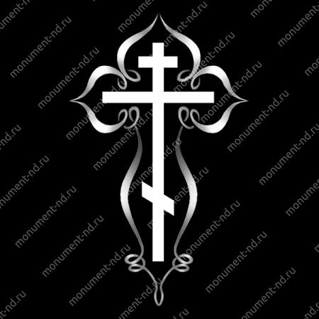 Гравировка Крестика К-023