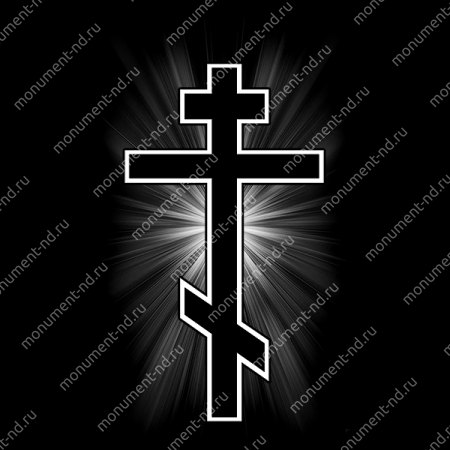 Гравировка Крестика К-025