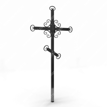 Металлический крест на могилу Кр - 005