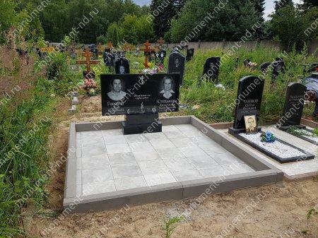 """Мемориальный комплекс НР - 053 """"Под ключ"""" 200х180 см"""