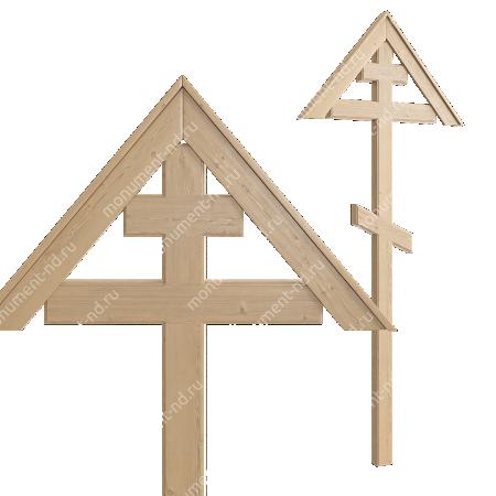 Деревянный крест на могилу ДкС - 002 1