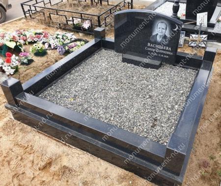 Гранитная крошка на могилу 50 кг.  2