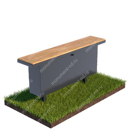 Стол и лавочка Л-008 1