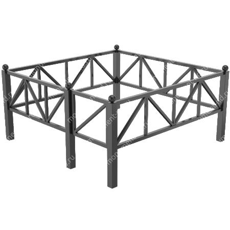 Сварная ограда ОС-007 2