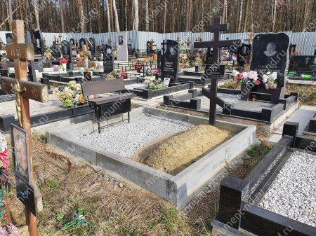 Бордюр на могилу Б-001 Размер:21х100х7 см 2