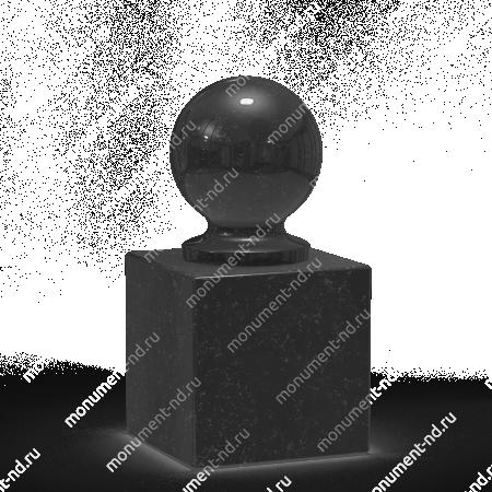 Шар из гранита Ш-015 1