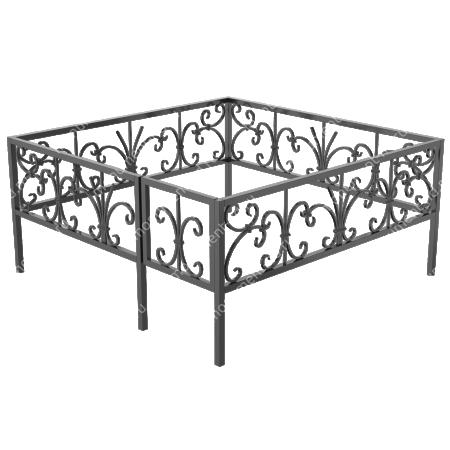 Ограда кованная ОK-41 1