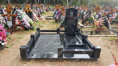 Брусчатка на могилу ТП-10  2