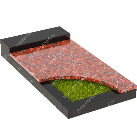 Накладная плита на цветник Цвт-032   3
