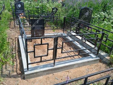 Гранитная табличка на могилу Т-002  Размер: 60х40х2 см. 4