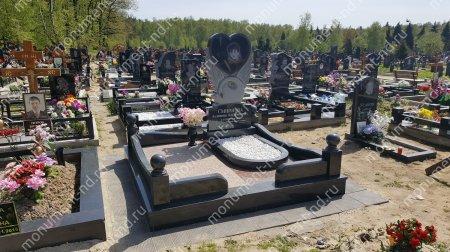 """Мемориальный комплекс НР - 035 """"Под ключ"""" 200х180 см"""