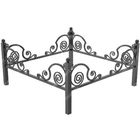 Ограда кованная ОК-30 2