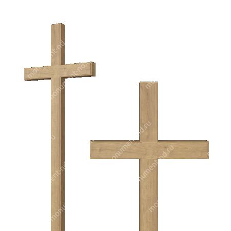 Деревянный крест на могилу ДкД - 003 1