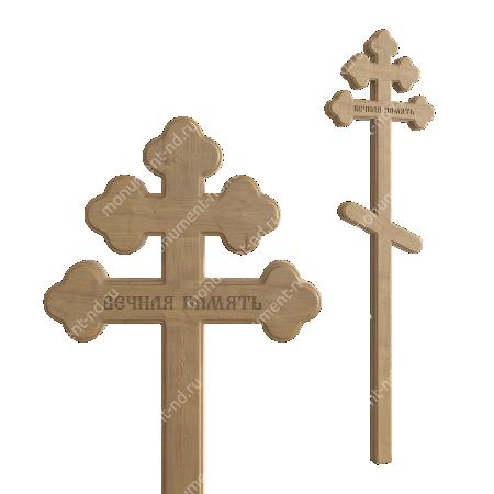 Деревянный крест на могилу ДкД - 005 1