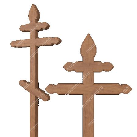 Деревянный крест на могилу ДкД - 012 2