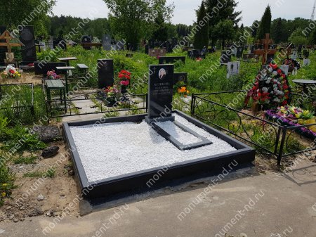 Мраморная крошка на могилу 50 кг.  4