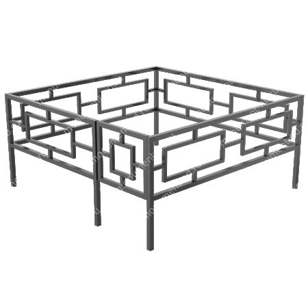 Сварная ограда ОС-001 1