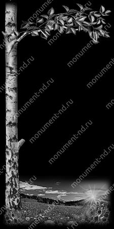 Гравировка дерева Д - 009