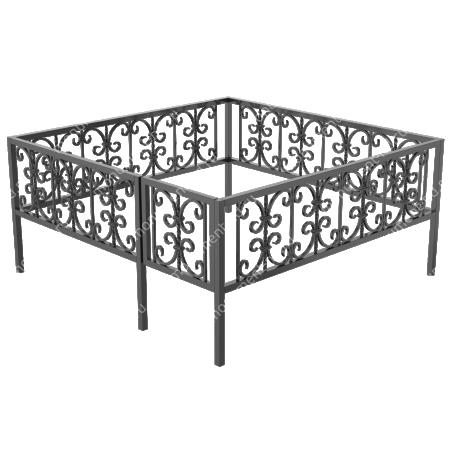 Ограда кованная ОК-4 1