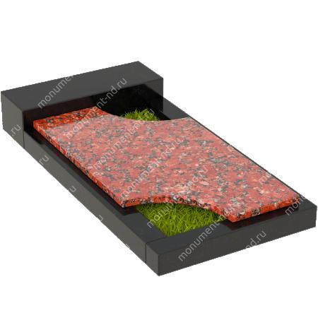 Накладная плита на цветник Цвт-025  5