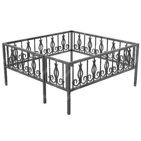 Ограда кованная ОК-9 1