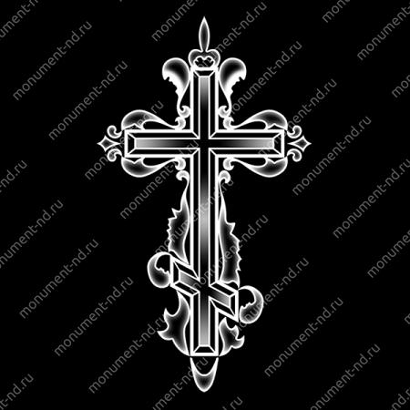Гравировка Крестика К-034